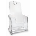 Portadepliant modulare - 1 tasca 1/3 A4 - 11,7x19,5x10,1 cm - Arda