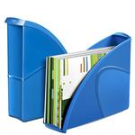 Portariviste CepPro Gloss - 26,5x31 cm - dorso 8 cm - blu oceano - Cep