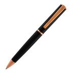 Penna a sfera Linea Impressa - punta M - nero/rosegold - Monteverde