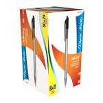 Penna a sfera a scatto Inkjoy 100 RT - punta 1,0mm - nero  - Papermate - conf. 80+20 pezzi