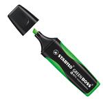 Evidenziatore Green Boss - punta a scalpello - tratto da 2,0-5,0mm - verde - 83% plastica riciclata - Stabilo