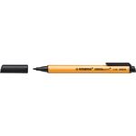 Pennarello Greenpoint - punta 0,8mm - nero - Stabilo