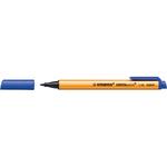 Pennarello Greenpoint - blu - punta 0,8mm - Stabilo