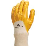 Guanto da lavoro pesante NI015 - nitrile leggero - taglia 10 - giallo - Deltaplus