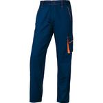 Pantalone da lavoro Panostyle® M6PAN - sargia/poliestere/cotone - taglia L - blu/arancio - Deltaplus