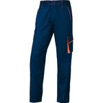 Pantalone da lavoro Panostyle® M6PAN - sargia/poliestere/cotone - taglia XL - blu/arancio - Deltaplus