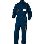 Tuta da lavoro Panostyle® M6COM - sargia/poliestere/cotone - taglia XL - blu/arancio - Deltaplus