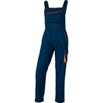 Salopette da lavoro Panostyle® M6SAL - sargia/poliestere/cotone - taglia L - blu/arancio - Deltaplus