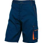 Bermuda da lavoro Panostyle® M6BER - sargia/poliestere/cotone - taglia L - blu/arancio - Deltaplus