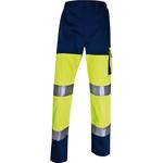 Pantalone alta visibilità PHPA2 - sargia/poliestere/cotone - taglia XL - giallo fluo - Deltaplus