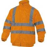 Giubbotto alta visibilità Reno HV - poliestere /poliuretano - taglia L - arancio fluo - Deltaplus