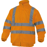 Giubbotto alta visibilità Reno HV - poliestere/poliuretano - taglia XL - arancio fluo - Deltaplus