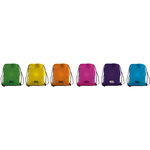 Sacchetto t-bag in nylon 38x50cm colori assortiti