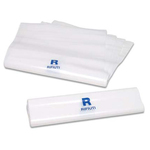 Sacchetto per rifiuti sanitari - chiusura minigrip - 18x25 cm - PVS