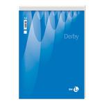 Blocco note derby 80x120mm 70fg 60gr pm 5mm bm