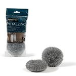 Spugna zincata - 30 g - Perfetto - blister 2 pezzi