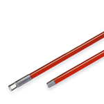 Manico Vital 130 per scope - metallo verniciato - 130 cm - Perfetto