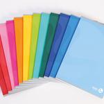 Quaderno Color 80 - A5 - 1 rigo - 96 fogli - 80gr - cartonato - BM