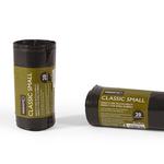 Sacchi per rifiuti Classic Small - 50x60 cm - 30 L - 10 micron - nero - Perfetto - rotolo da 20 sacchetti