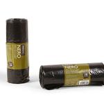 Sacchi per rifiuti Classic - 70x110 cm - 110 L - 20 micron - nero - Perfetto - rotolo da 10 sacchetti