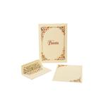 Carta da lettere con busta - 210 x 297mm - Kartos - conf. 10 fogli