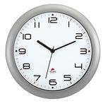 Orologio da parete Hornew - diametro 30 cm - grigio metal - Alba