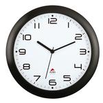 Orologio da parete Hornew - diametro 30 cm - nero - Alba