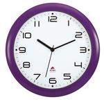 Orologio da parete Hornew - diametro 30 cm - viola - Alba
