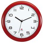 Orologio da parete Hornew - diametro 30 cm - rosso - Alba