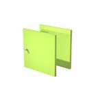 Coppia ante Rainbow - per libreria - verde neon - Artexport