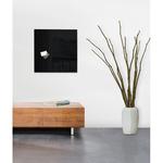 Lavagna magnetica in vetro artverum® - 480x480x15 mm - nero - Sigel