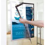 Cornice Duraframe® Poster - A2 - 42x59.4 cm - argento - Durable