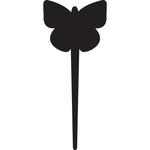 Silhouette Tags - forma farfalla - nero - Securit - set 5 pezzi