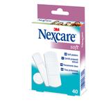 Cerotti Soft - TNT - 3 misure assortite - bianco - Nexcare - conf. 40 pezzi