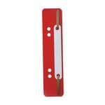 Pressini fermafogli - 38x150 mm - rosso - Durable - conf. 25 pezzi