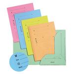 Cartellina a 2 alette - per cartelle sospese - 23,5x31,5 cm - colori assortiti - Favorit