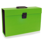 Archiviatore a soffietto Joy - 19 tasche - 22x30 cm - verde lime - Rexel