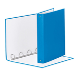 Raccoglitore Meeting - 4 anelli tondi 30 mm - dorso 4 cm - 22x30 cm - PPL - blu vivida - Esselte