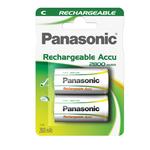 Blister 2 Mezzatorcia C Ready to use ricaricabili - Panasonic
