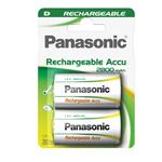 Torcia D ready to use - ricaricabili - Panasonic - blister 2 pezzi