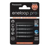 Blister 4 Ministilo Eneloop Pro ricaricabili - AAA - Panasonic