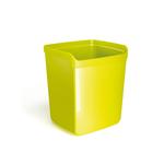 Bicchiere portapenne Mydesk - 8,7x7,4x10 cm - verde - Arda