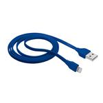 Cavo Lightning piatto per attacco USB - 1 mt - blu - Trust