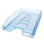 Vaschetta portacorrispondenza Sunrise - 33,5x25,4x7 cm - 23x32 cm - azzurro trasparente - Arda