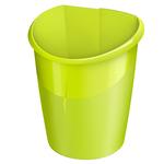 Cestino gettacarte Ellypse Xtra Strong - altezza 38 cm - 15 lt - verde anice - CEP