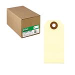 Etichette per spedizioni - permanente - 120x60 mm - avana - Lebez - conf. 1000 pezzi