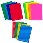 Maxiquaderno A4 80gr 80fg+1 5mm c/margine assortimento colorspecial