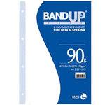 Ricambi BandUp forati rinforzati - A4 - bianchi - 40 fogli - 90gr - BM