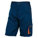 Bermuda da lavoro Panostyle® M6BER - sargia/poliestere/cotone - taglia XXL - blu/arancio - Deltaplus