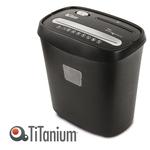 Distruggidocumenti TS080X - a frammenti - 15L - Titanium